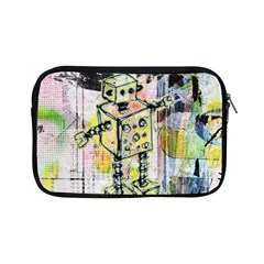 Graffiti Graphic Robot Apple iPad Mini Zippered Sleeve by ArtistRoseanneJones