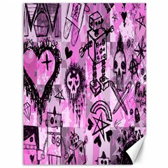 Pink Scene Kid Sketches Canvas 36  X 48  (unframed) by ArtistRoseanneJones