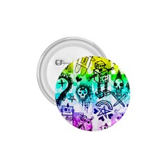 Rainbow Scene Kid Sketches 1 75  Button by ArtistRoseanneJones