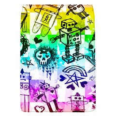 Rainbow Scene Kid Sketches Removable Flap Cover (s) by ArtistRoseanneJones