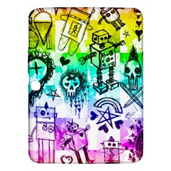 Rainbow Scene Kid Sketches Samsung Galaxy Tab 3 (10 1 ) P5200 Hardshell Case  by ArtistRoseanneJones