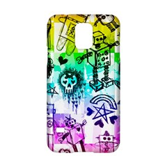 Rainbow Scene Kid Sketches Samsung Galaxy S5 Hardshell Case  by ArtistRoseanneJones