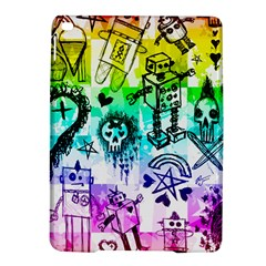 Rainbow Scene Kid Sketches Apple Ipad Air 2 Hardshell Case by ArtistRoseanneJones