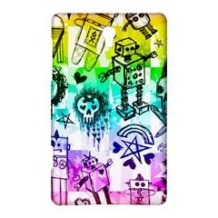 Rainbow Scene Kid Sketches Samsung Galaxy Tab S (8 4 ) Hardshell Case  by ArtistRoseanneJones