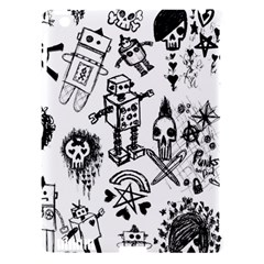 Scene Kid Sketches Apple Ipad 3/4 Hardshell Case (compatible With Smart Cover) by ArtistRoseanneJones
