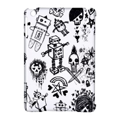 Scene Kid Sketches Apple Ipad Mini Hardshell Case (compatible With Smart Cover) by ArtistRoseanneJones