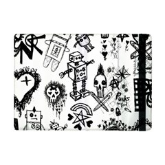 Scene Kid Sketches Apple Ipad Mini 2 Flip Case by ArtistRoseanneJones