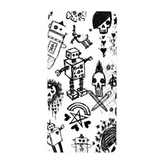 Scene Kid Sketches Samsung Galaxy Alpha Hardshell Back Case by ArtistRoseanneJones