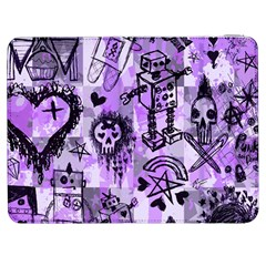 Purple Scene Kid Sketches Samsung Galaxy Tab 7  P1000 Flip Case by ArtistRoseanneJones