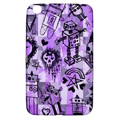 Purple Scene Kid Sketches Samsung Galaxy Tab 3 (8 ) T3100 Hardshell Case  by ArtistRoseanneJones