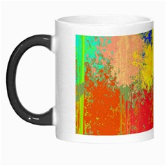 Colorful Paint Spots Morph Mug by LalyLauraFLM