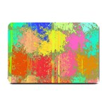 Colorful paint spots Small Doormat 24 x16 Door Mat - 1