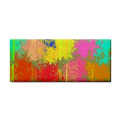Colorful paint spots Hand Towel by LalyLauraFLM