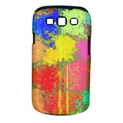 Colorful Paint Spots Samsung Galaxy S Iii Classic Hardshell Case (pc+silicone) by LalyLauraFLM