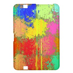 Colorful Paint Spots Kindle Fire Hd 8 9  Hardshell Case by LalyLauraFLM