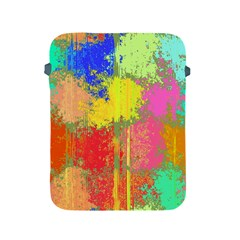 Colorful Paint Spots Apple Ipad 2/3/4 Protective Soft Case by LalyLauraFLM