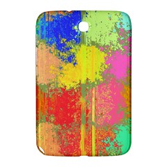 Colorful Paint Spots Samsung Galaxy Note 8 0 N5100 Hardshell Case  by LalyLauraFLM