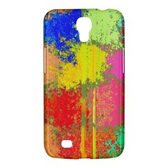 Colorful Paint Spots Samsung Galaxy Mega 6 3  I9200 Hardshell Case by LalyLauraFLM