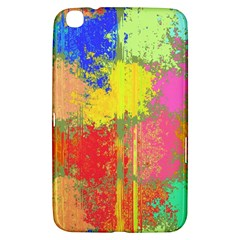 Colorful Paint Spots Samsung Galaxy Tab 3 (8 ) T3100 Hardshell Case  by LalyLauraFLM