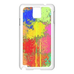 Colorful Paint Spots Samsung Galaxy Note 3 N9005 Case (white) by LalyLauraFLM