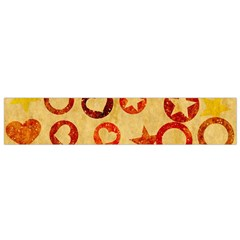 Shapes On Vintage Paper Flano Scarf by LalyLauraFLM