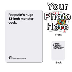 Spasmicpuppy White Cards Against Humanity Deck 2 By Spasmicpuppy   Playing Cards 54 Designs   4n9fs4gdrwdd   Www Artscow Com Front - Heart2
