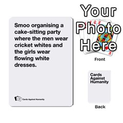 Spasmicpuppy White Cards Against Humanity Deck 2 By Spasmicpuppy   Playing Cards 54 Designs   4n9fs4gdrwdd   Www Artscow Com Front - Diamond9