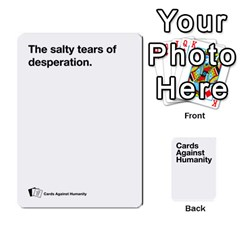 Spasmicpuppy White Cards Against Humanity Deck 2 By Spasmicpuppy   Playing Cards 54 Designs   4n9fs4gdrwdd   Www Artscow Com Front - Spade6