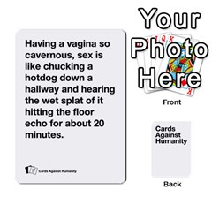 Jack Spasmicpuppy White Cards Against Humanity Deck 2 By Spasmicpuppy   Playing Cards 54 Designs   4n9fs4gdrwdd   Www Artscow Com Front - SpadeJ