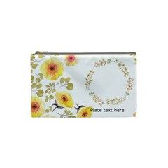 Watercolor Cosmetic Bag (xs) By Joy   Cosmetic Bag (xs)   X4p0tp81mhaf   Www Artscow Com Front