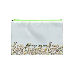 Watercolor Cosmetic Bag (m) By Joy Front