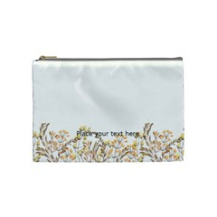 Watercolor Cosmetic Bag (m) By Joy   Cosmetic Bag (medium)   Gcfh3okeno3p   Www Artscow Com Front