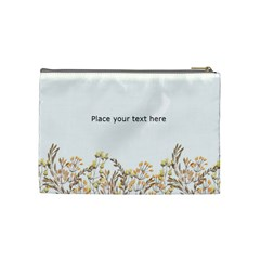 Watercolor Cosmetic Bag (m) By Joy   Cosmetic Bag (medium)   Gcfh3okeno3p   Www Artscow Com Back