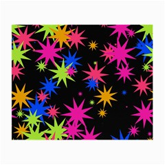 Colorful Stars Pattern Small Glasses Cloth (2 Sides) by LalyLauraFLM