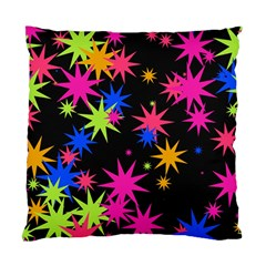 Colorful Stars Pattern Standard Cushion Case (two Sides) by LalyLauraFLM