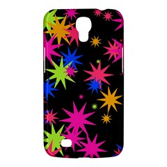 Colorful Stars Pattern Samsung Galaxy Mega 6 3  I9200 Hardshell Case by LalyLauraFLM