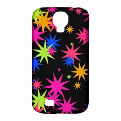 Colorful Stars Pattern Samsung Galaxy S4 Classic Hardshell Case (pc+silicone) by LalyLauraFLM