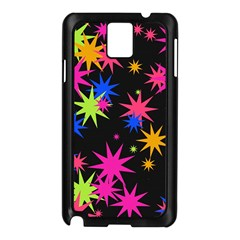 Colorful Stars Pattern Samsung Galaxy Note 3 N9005 Case (black) by LalyLauraFLM