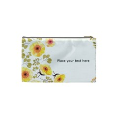 Watercolor Cosmetic Bag (s) By Joy   Cosmetic Bag (small)   3q74kg76sg8j   Www Artscow Com Back