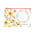 Watercolor Cosmetic Bag (L) - Cosmetic Bag (Large)