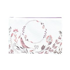 Watercolor Cosmetic Bag (l) By Joy   Cosmetic Bag (large)   63r1xryhaygb   Www Artscow Com Front