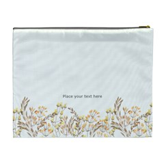 Watercolor Cosmetic Bag (xl) By Joy   Cosmetic Bag (xl)   G5aquxi6ckvb   Www Artscow Com Back