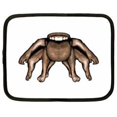 Fantasty Dark Alien Monster Netbook Sleeve (xl) by dflcprints