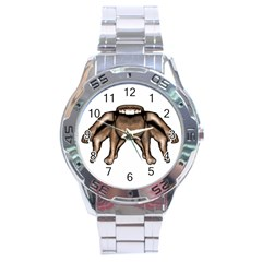 Fantasty Dark Alien Monster Stainless Steel Watch by dflcprints