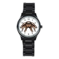 Fantasty Dark Alien Monster Sport Metal Watch (black) by dflcprints