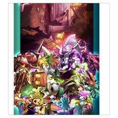 Super Dungeon Explore   Forgotten King Tokens By Drew Bakke   Drawstring Pouch (large)   55udnj4daan8   Www Artscow Com Back