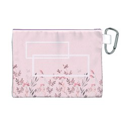 Floral Cosmetic Bag (xl) By Joy   Canvas Cosmetic Bag (xl)   P3n1pvz7zfuq   Www Artscow Com Back