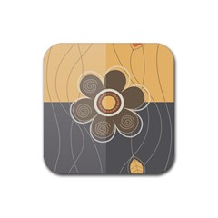 Floral Design Drink Coasters 4 Pack (square) by EveStock