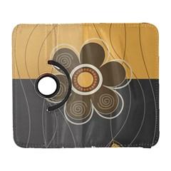 Floral Design Samsung Galaxy S  Iii Flip 360 Case by EveStock