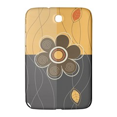 Floral Design Samsung Galaxy Note 8 0 N5100 Hardshell Case  by EveStock